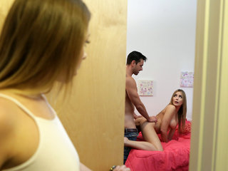 Stepsisters Blair Williams and Alex Blake share..