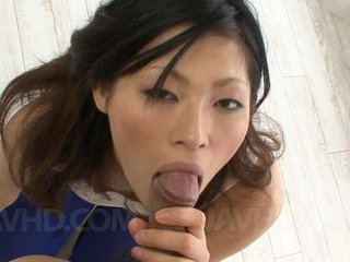 Ryo Sasaki Asian has such skilled mouth when it..