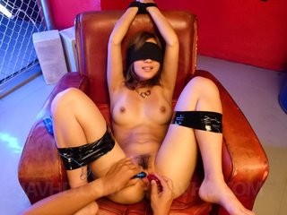 Aika Asian is tied, fucked with vibrator and..