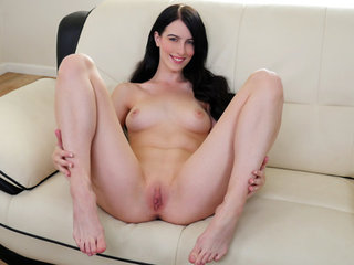Sweet sexy coed Alex Harper wants to show you..
