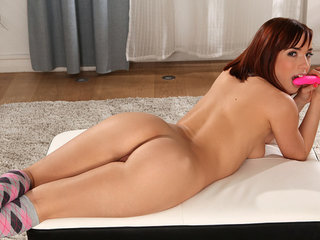 Cock hungry coed Tina Hot just loves to get her..