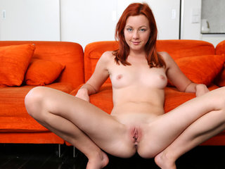 Busty redhead Elen Moore is a wild and crazy..